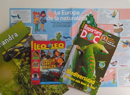 Revistas Bayard: Leo Leo y Reportero DOC