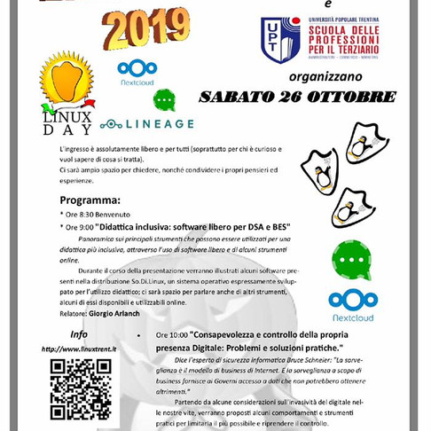 ARCO - Il LINUX Day ad ARCO!