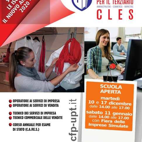 CLES - SCUOLA APERTA con le attività in laboratorio!