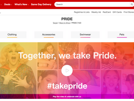 Target Pride Commercial