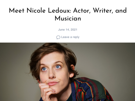 """Nicole featured in an article about """"Defining Success"""" for Shoutout LA"""
