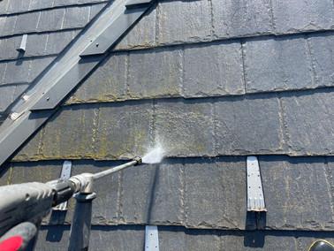 着工 船橋市宮本 外壁・屋根塗装工事