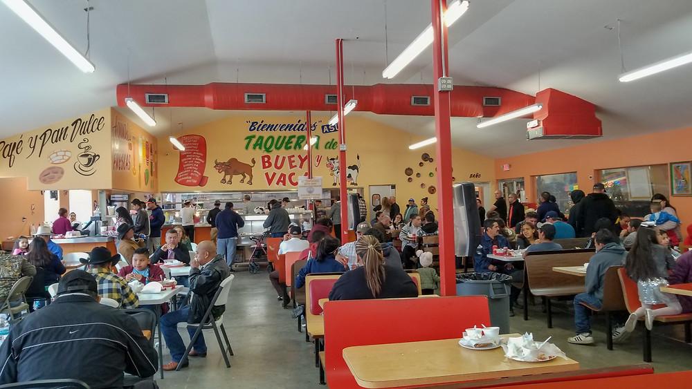 Taqueria Buey y Vaca in Houston's East End