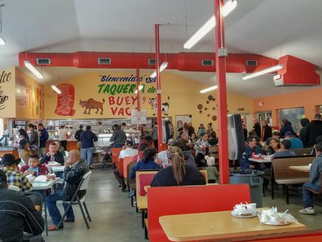 Sunday Brunch at Taqueria Buey y Vaca