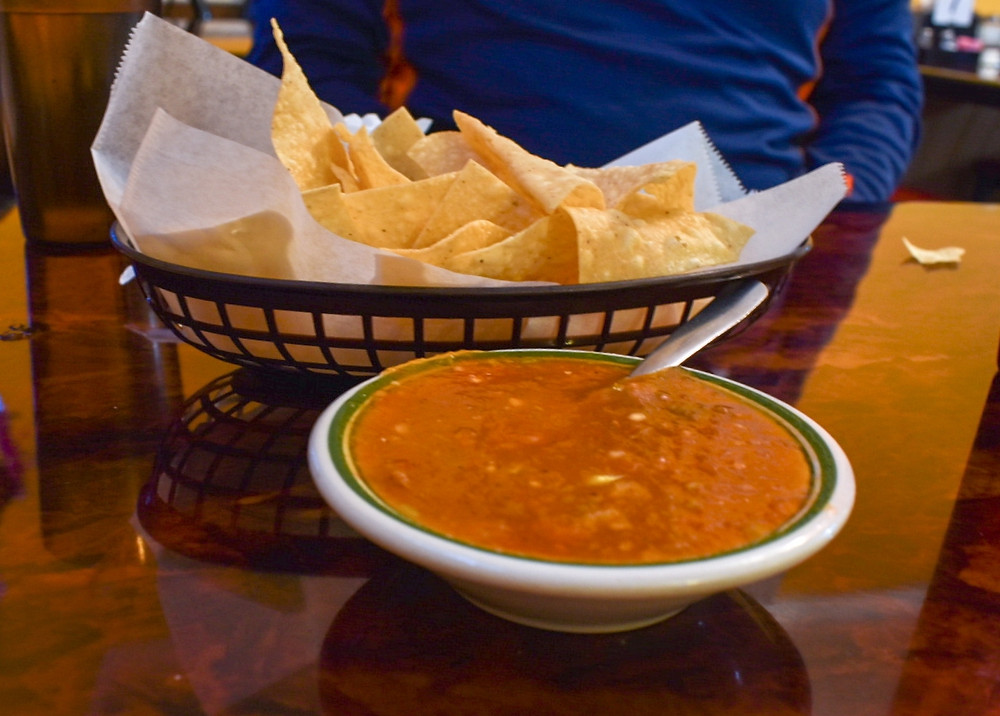 Love me some chips and salsa.
