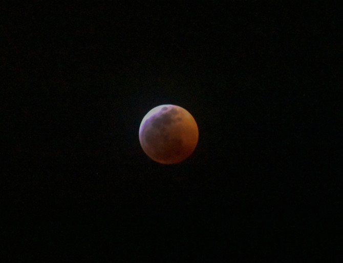 Capturing the Super Blood Wolf Moon