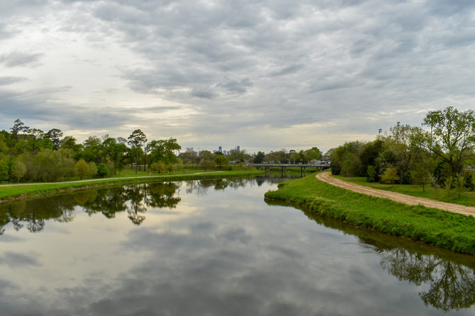 Start your run at Mason Park in Houston's East End