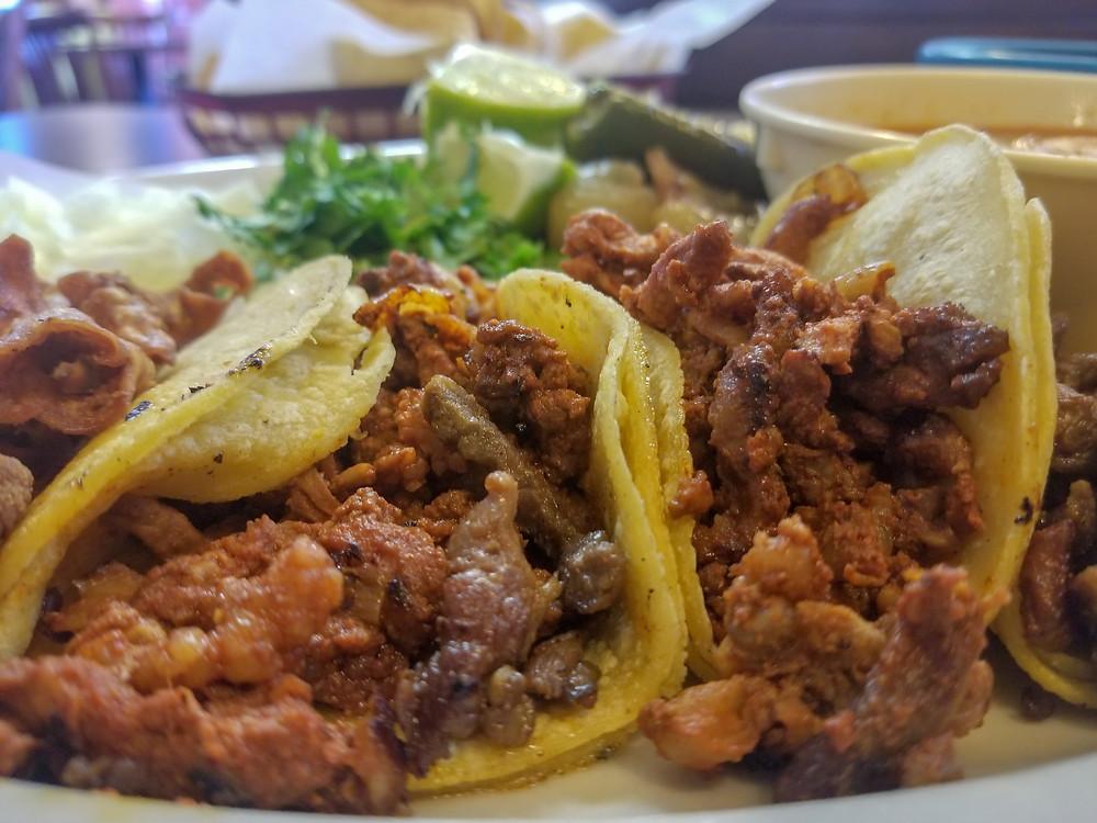 Taqueria El Jaliciense mini tacos