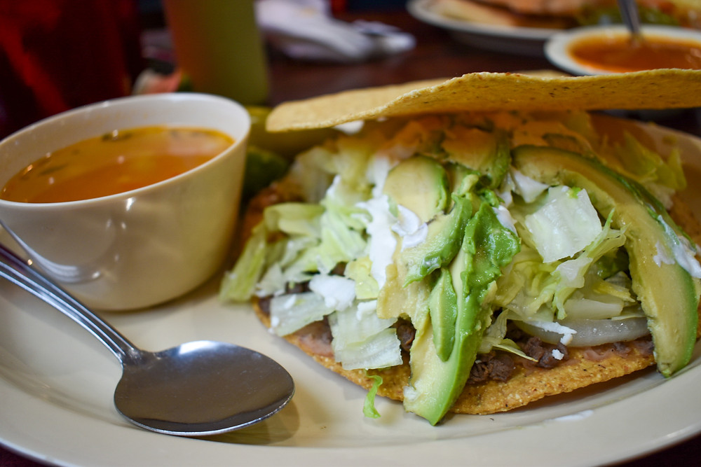 Tostada Regia in Houston, Texas serves authentic northern Mexican Food