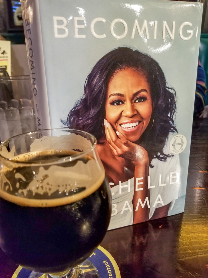 """Never stop growing: Michelle Obama's """"Becoming"""""""