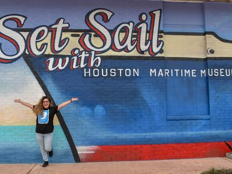 Houston Maritime Museum Docks in Houston's East End