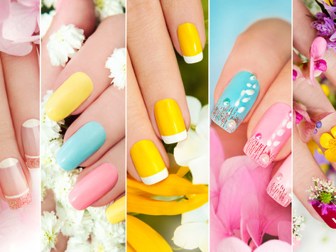 Nail Service start from Mach 1st.