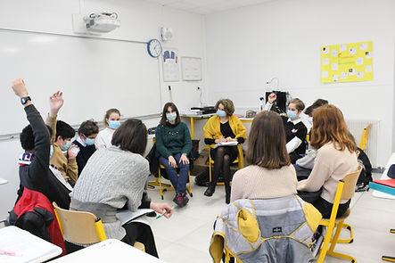 Atelier Des mots et Débats - 3ème et 4èm