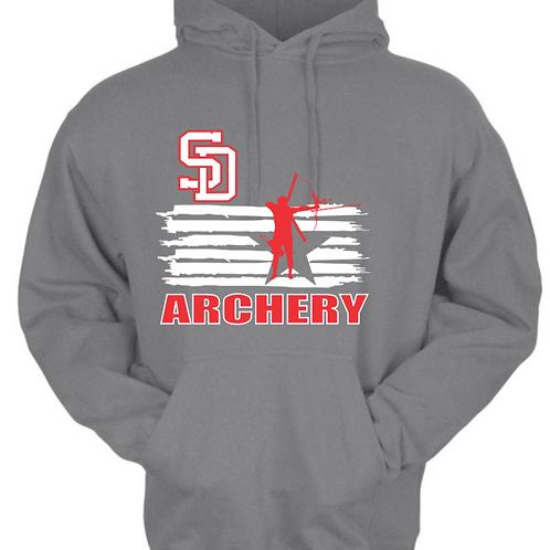 SD Archery Hoodie - Grey