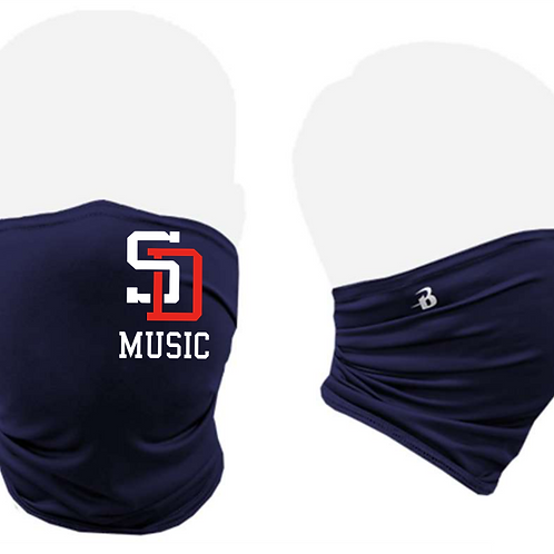 Music Badger - Performance Activity Mask Navy
