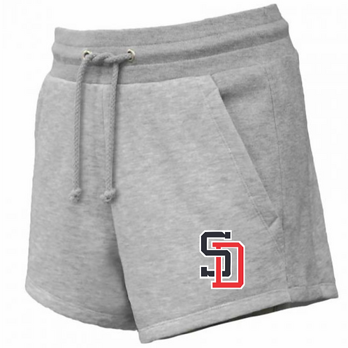 Ladies Fleece Shorts with Pockets- Knights