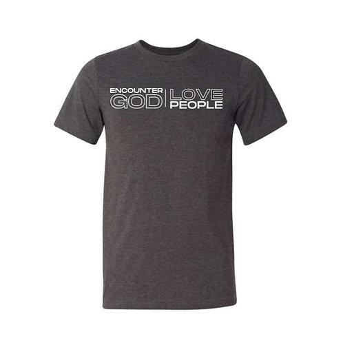 GCOTV-- Heather Charcoal T-Shirt