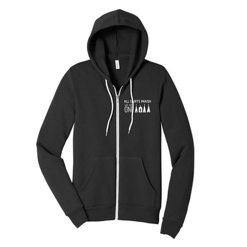 Embroidered ASP Full Zip Hooded Sweatshirt