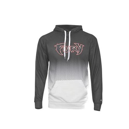 Fury Baseball 2021 Hex Polyester Hooded Sweatshirt