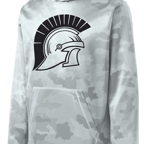 Camo Hex Hooded Pullover St. Michael