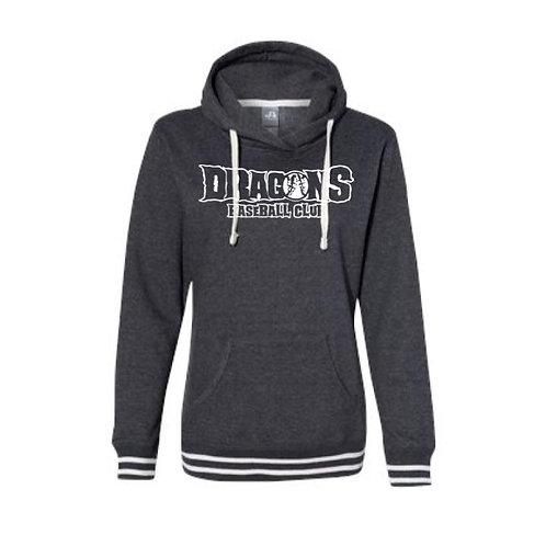 Dragons Baseball 2021 Women's Hooded Relay Sweatshirt