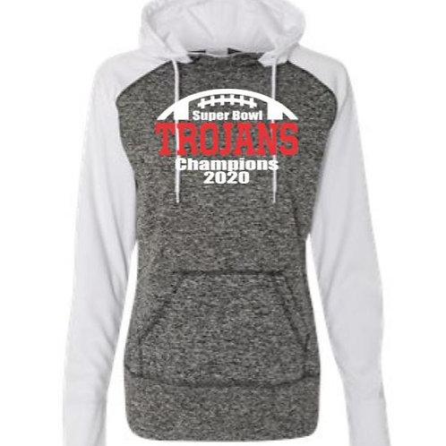 Super Bowl Champs Ladies Cosmic Fleece Hooded Sweatshirt