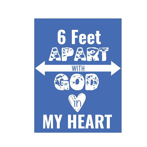 6 Feet Apart T-Shirt