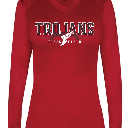 EC Track and Field Ultimate SoftLock™ Women's Fitted Long Sleeve T-Shirt
