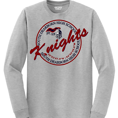 Soft Style Long Sleeve- Knights