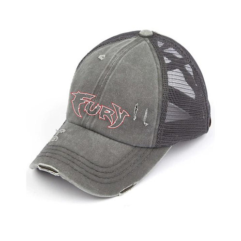 Fury Baseball Criss Cross Hat