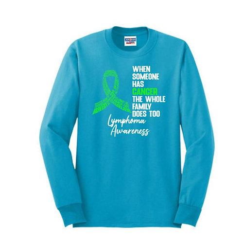 Outfoxing Lymphoma-- Long Sleeve T-Shirt