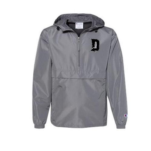 Dragons Baseball 2021 Baseball Embroidered Packable Quarter-Zip Jacket