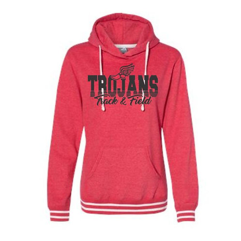 2021 SDMS Track & Field Women's Relay Hooded Sweatshirt