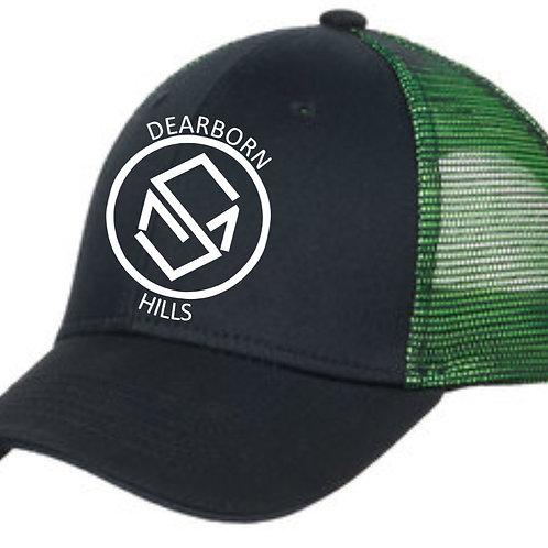 Green Port Authority® Double Mesh Snapback Sandwich Bill Cap