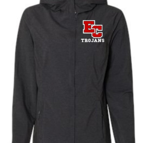 EC Track and Field Women's 32 Degrees Mélange Rain Jacket