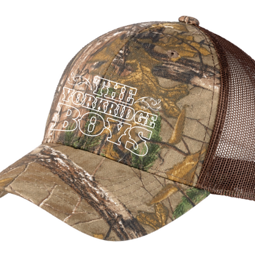 Port Authority® Structured Camouflage Mesh Back Cap