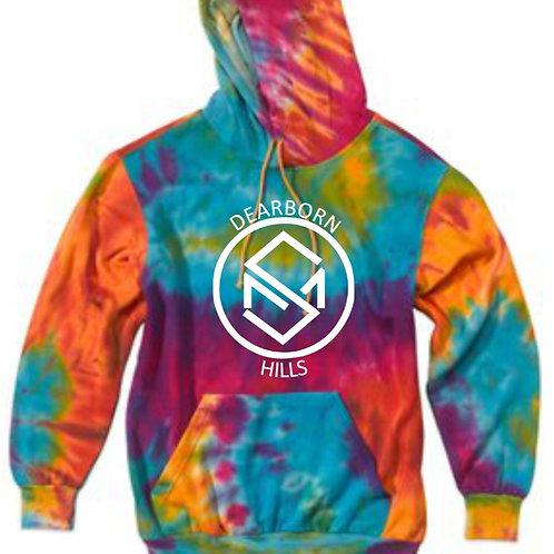 MV Sport - Classic Fleece Tie-Dye Hood