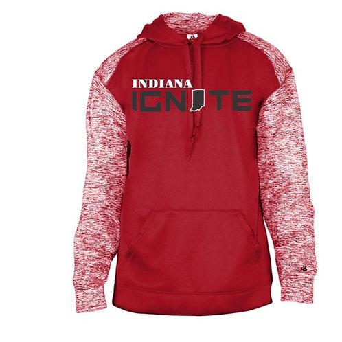 IN Ignite 2021 Sport Blend Polyester Hooded Sweatshirt