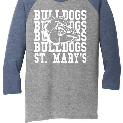 District ® Perfect Tri ® 3/4-Sleeve Raglan St. Mary