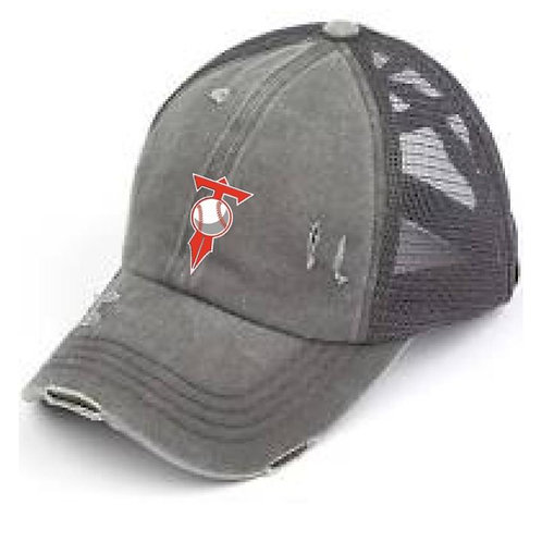 HVL Trojans Baseball Gray Hat
