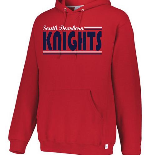 Sweatshirt Red- Knights