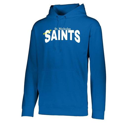 St. Nicholas 100% Polyester Hooded Sweatshirt