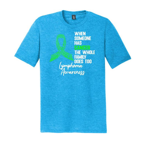 Outfoxing Lymphoma-- T-Shirt