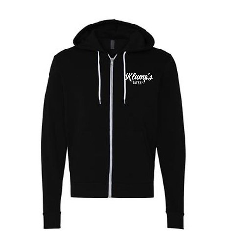 Klump's Embroidered Full Zip Hoodie