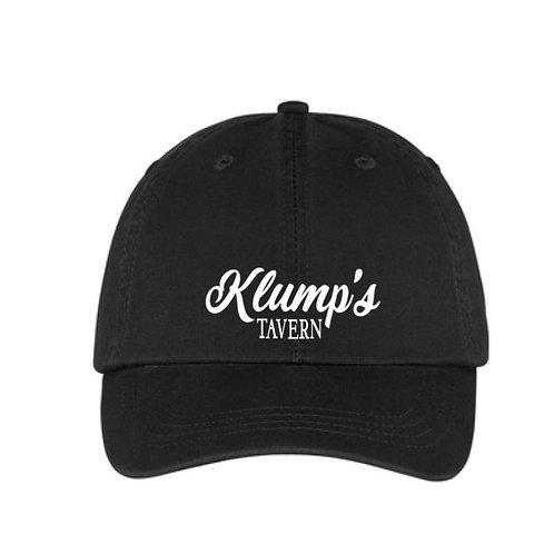 Klump's Black Twill Hat