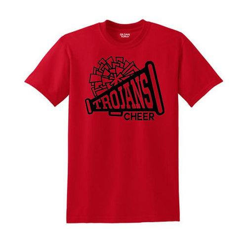 Trojan Cheer 50/50 T-shirt