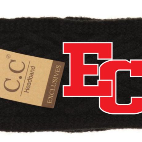 ECBB CC Beanie Diagonal Criss-Cross Patterned Head Wrap