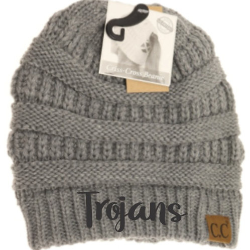 St. Michael - CC Criss-Cross Knit Beanie