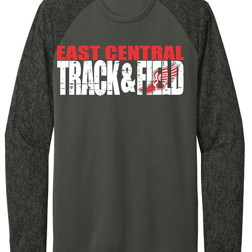 EC Track and Field Sport-Tek ® Long Sleeve Digi Camo Tee
