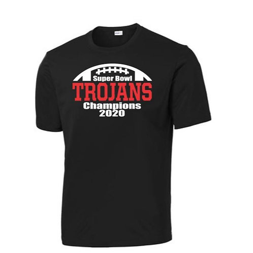 Super Bowl Champs 100% Polyester T-Shirt